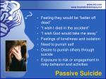 passive suicide