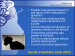 suicide probability scale sps