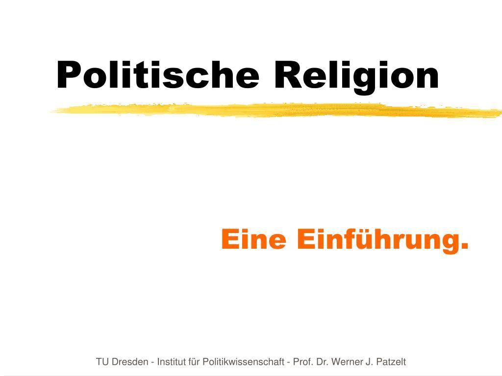 politische religion l.