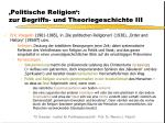 politische religion zur begriffs und theoriegeschichte iii