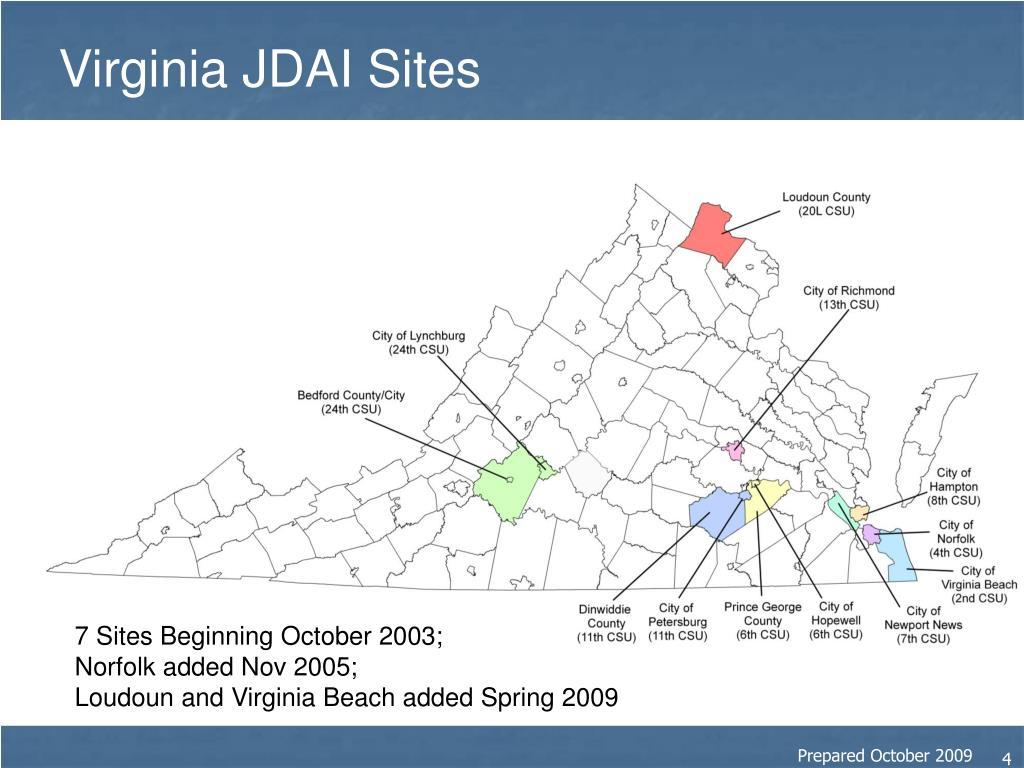 Virginia JDAI Sites