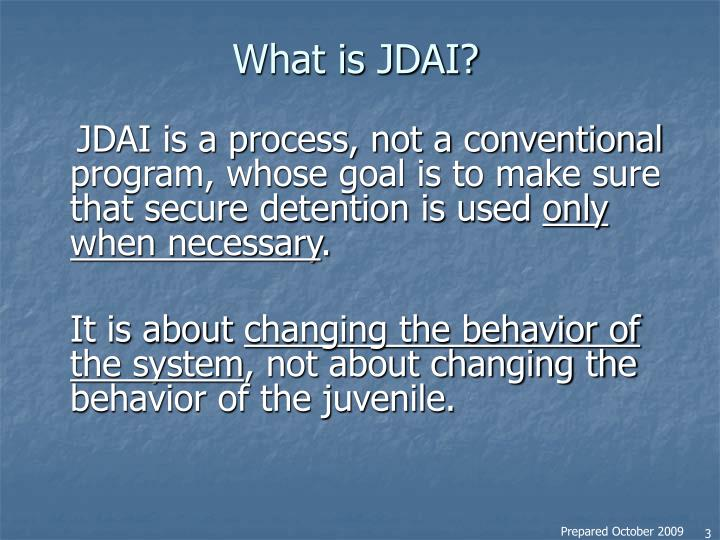What is jdai