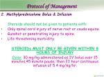 protocol of management11