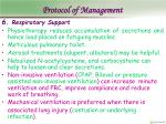protocol of management19