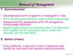protocol of management20