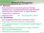 protocol of management21