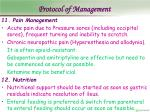 protocol of management22