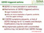 gerd triggered asthma