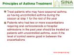 principles of asthma treatment63