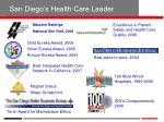 san diego s health care leader