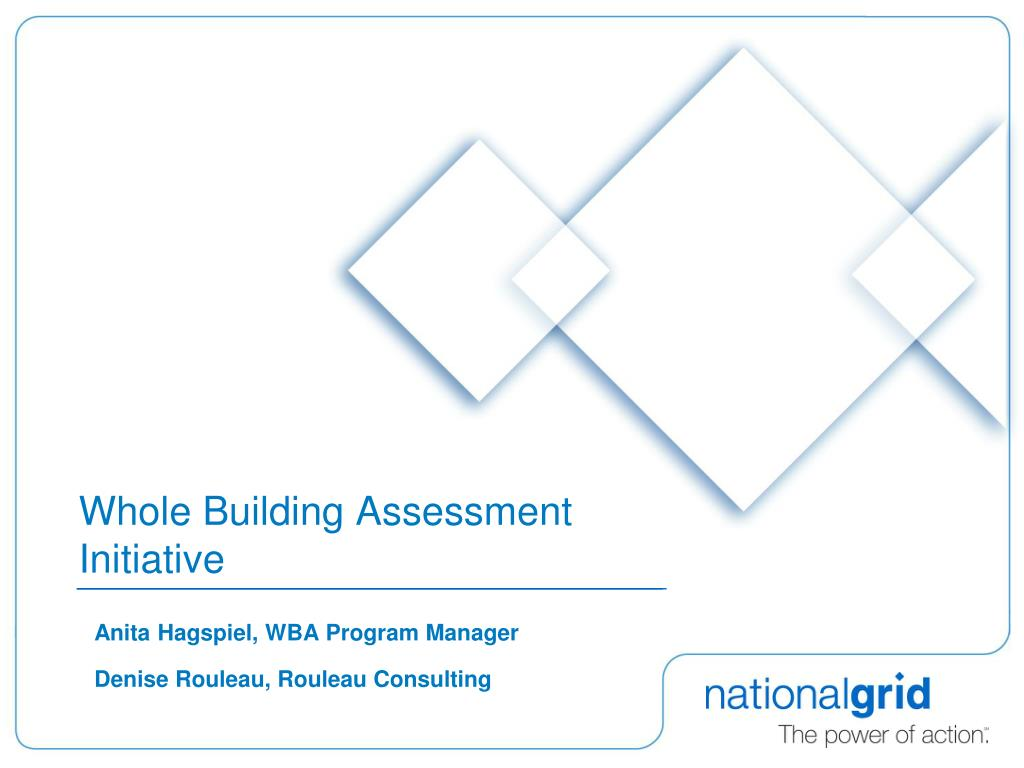 whole building assessment initiative l.