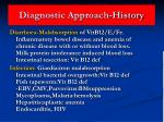 diagnostic approach history35