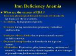 iron deficiency anemia46