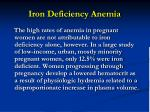 iron deficiency anemia48