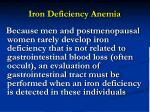 iron deficiency anemia50