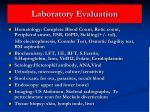 laboratory evaluation41