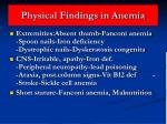 physical findings in anemia38
