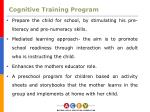 cognitive training program