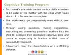 cognitive training program9