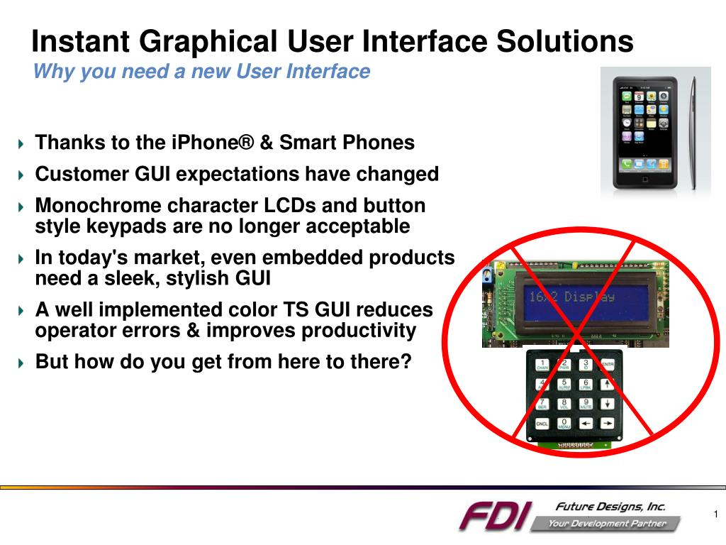 instant graphical user interface solutions why you need a new user interface l.