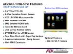 uezgui 1788 56vi features touch screen lcd gui