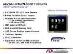 uezgui rx62n 35qt features touch screen lcd gui