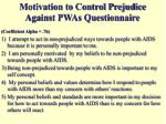 motivation to control prejudice against pwas questionnaire
