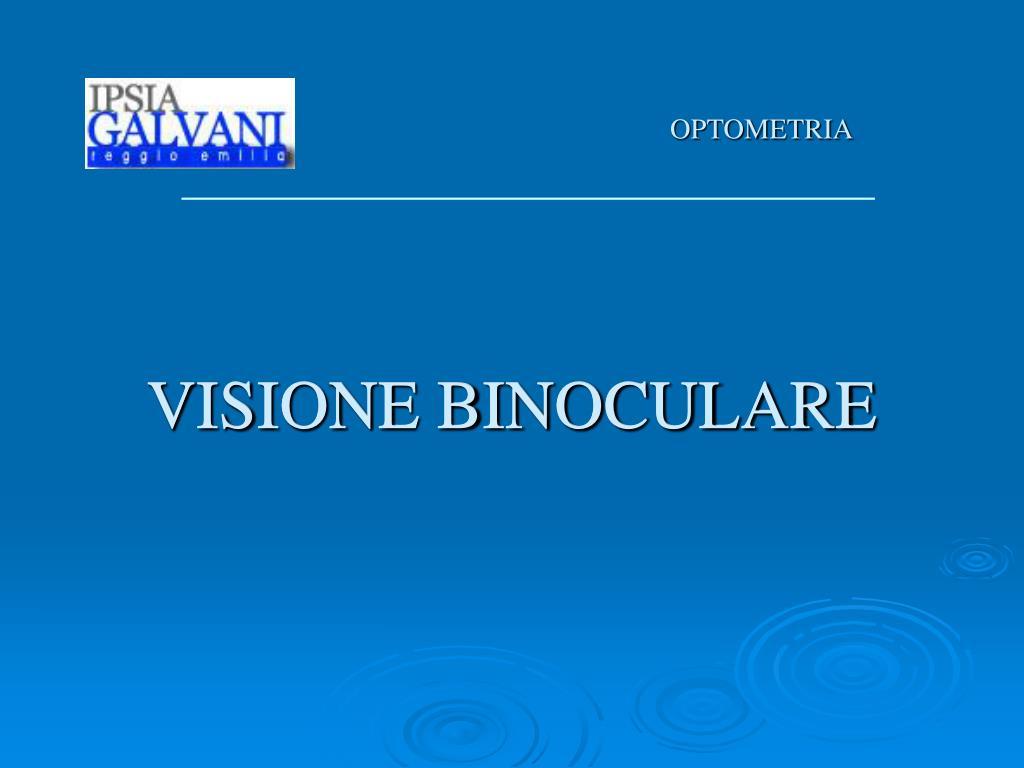 visione binoculare l.