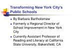 transforming new york city s public schools