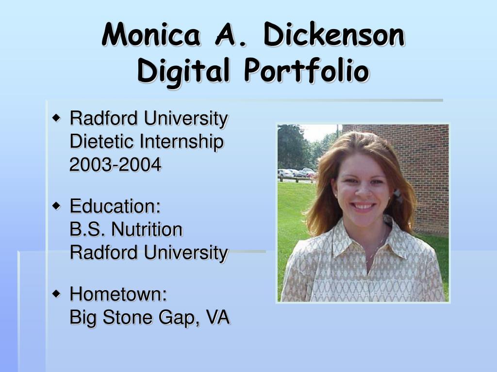 monica a dickenson digital portfolio l.