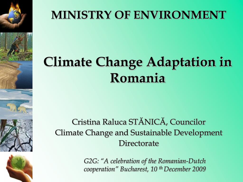 climate change adaptation in romania l.