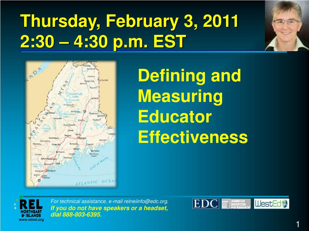 defining and measuring educator effectiveness l.