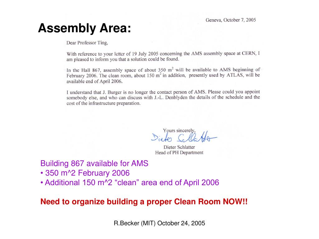 Assembly Area: