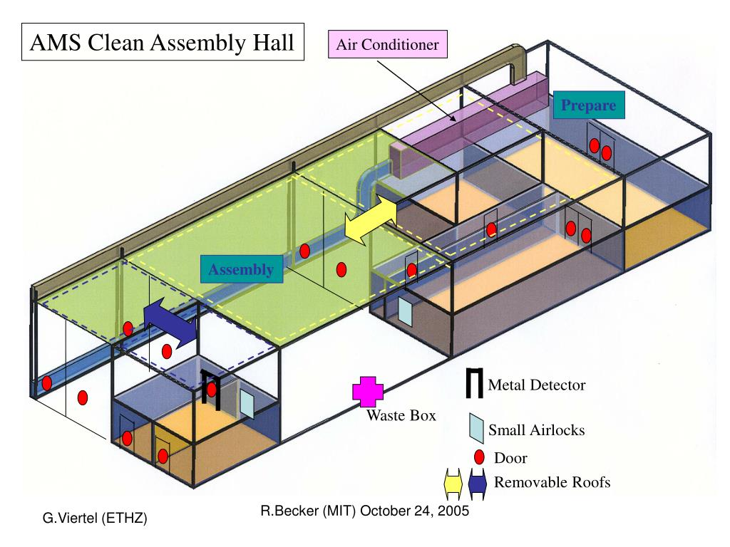 AMS Clean Assembly Hall