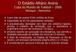 o est dio allianz arena copa do mundo de futebol 2006 munique alemanha