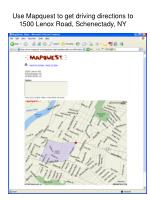 use mapquest to get driving directions to 1500 lenox road schenectady ny
