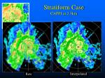stratiform case cappi at 2 3km