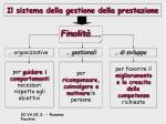 il sistema della gestione della prestazione8