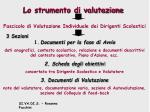 lo strumento di valutazione21
