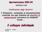 sperimentazione 2003 0423