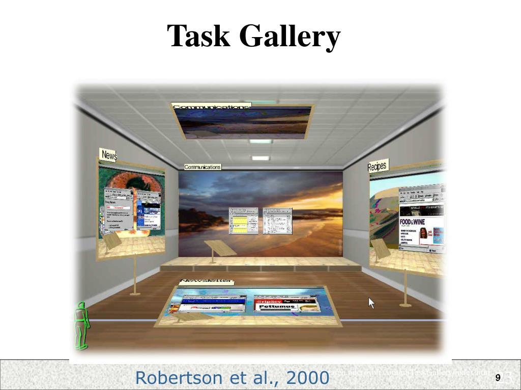 Task Gallery