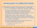approaches to computer fraud63