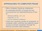 approaches to computer fraud67