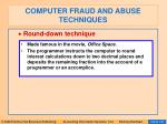 computer fraud and abuse techniques104