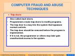 computer fraud and abuse techniques116