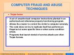computer fraud and abuse techniques117