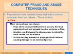 computer fraud and abuse techniques120