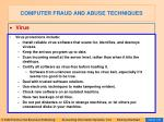 computer fraud and abuse techniques124