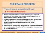 the fraud process15