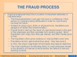 the fraud process16